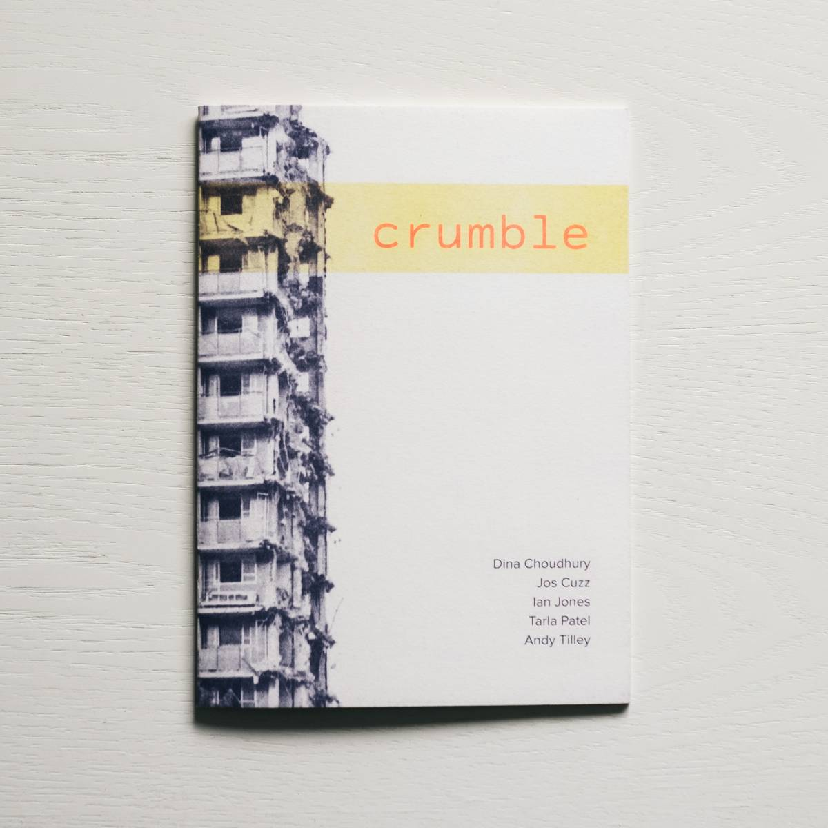 Crumble photobook
