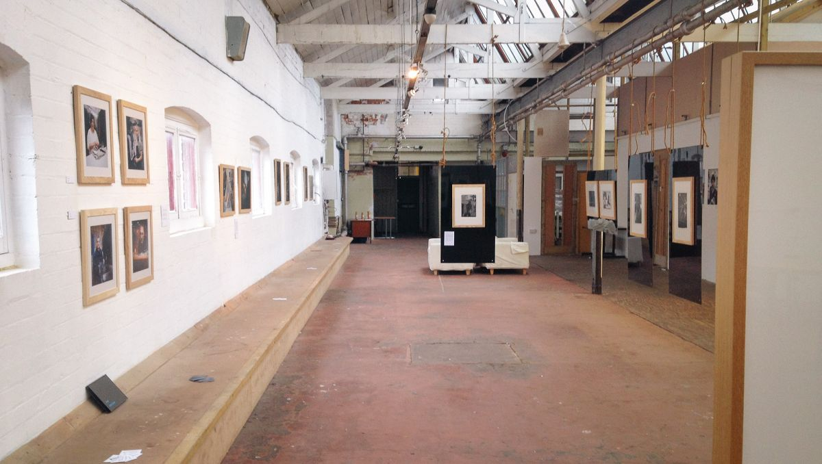 Some Stories exhibition view at The Printworks